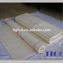 White wool felt sheet/ 100% wool felt/industrial felt thickness 6mm to 120mm(ROHS Certification)