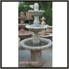 beige marble garden fountain