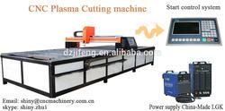 Huayuan plasma power supply cnc name cutting machine