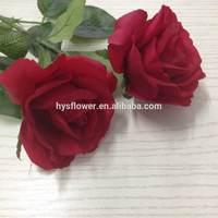 latex big red rose 10cm width artificial flower rose