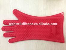 BPA Free Dishwashing Safe Heat Resistant Non-stick Kitchen BBQ Silicone Glove