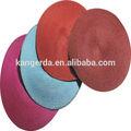 Papel tejido mantel/ronda salvamanteles para decoración de la mesa