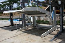 2000kg China High Quality Double Deck Underground Parking Stack 2 Car Parking System Car Parking Lift
