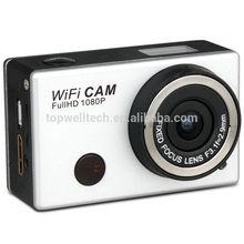 5.0MP Full HD 1080P 50M Waterproof Action Sport Helmet Camera WiFi DV extreme mini sports action camera