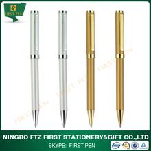 2014 new colorfull brand pen ,heavy brass ballpen