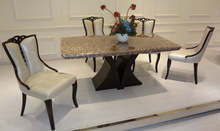 china supplier alibaba express supported 2014 hot sell marble dining table