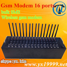 VoIP equipment usb 16 modem sim card price, yx gsm modem 16 port for bulk sms