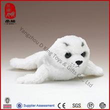 custom cute lovely soft seal plush stuffed harp seal