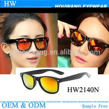 Promotional custom logo wayfarer sunglasses