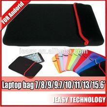 High quality nylon computer notebook bag, fashion cheap neoprene laptop computer bag, neoprene laptop computer bag