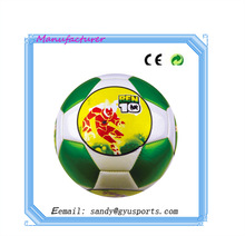 GY-0058 China factory directly wholesale PU leather 2014 brazil world cup soccer ball