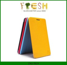 Original NILLKIN Fresh Series Flip Leather Case for Lenovo S5000 tablet pc