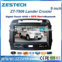 ZESTECH Factory 9 inch HD Touch Screen special car dvd player for TOYOTA LANDER CRUSIER FJ200 PRADO