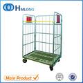 Dobrável rodas durable heavy duty aço carrinho trolley