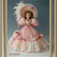 Victorian artesanais bonecas de porcelana do bebê bonecas de porcelana