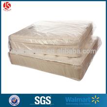 polietileno de baja densidad clara jumbo de plástico a prueba de polvo de la cubierta del colchón