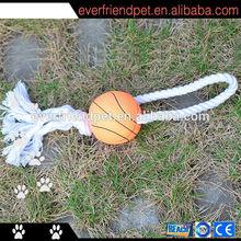 2014 new designed cotton basketball pet toys
