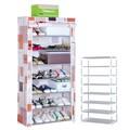 best selling alta qualidade sapato rack prateleira granel atacado dobrável modelo de sapato rack