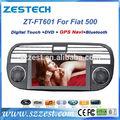 zestech toptan oem araba radyo çalar fiat 500 abarth 500 bravo punto linea doblo gps navigasyon