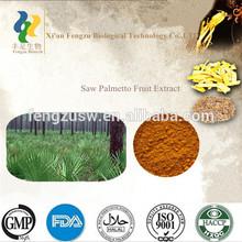 GMP&ISO saw palmetto capsules