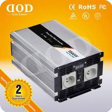 1500w dc/dc converter High quality dc12v to ac 220v inverter for solar battery pure sine wave inverter 500w