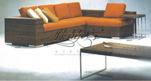 modern living room rattan sofa sets RA102