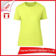 220G popular Top Quality t-shirt 100%cotton woman t-shirt printing