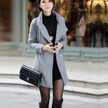 NZ3046 arrival cheap overcoats fashion woolen winter women coats