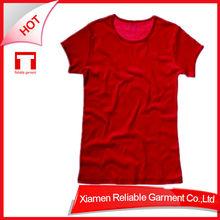 220G Promotional Top Quality t-shirt 100%cotton beautiful t-shirts for women