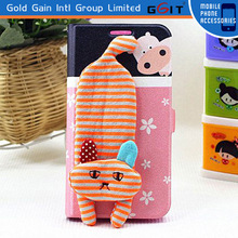 Flip Cover For Samsung S5 i9600, For Galaxy S5 Flip Cover