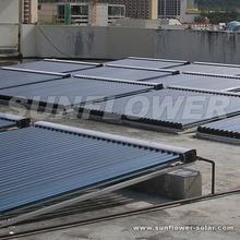 15 tubes Heat pump water heater + Solar collector Factory