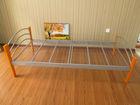 single size metal bed frame design
