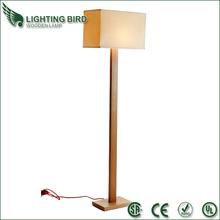 2014 hot sale saa ul ce rohs wood floor lamp large floor lamp