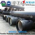 Dn1400 soquete e torneira ISO2531 fundido nodular tubo de ferro