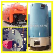 Coal fired hot water vertical thermal oil boiler
