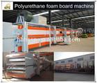 Continuous polyurethane spray foam/PU panel machine