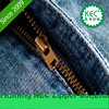 Best Selling Zipper Price with Durable and Smooth Brass Metal Zippers