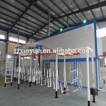 fluidized bed powder coating machine