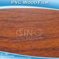 Sino de pegatinas agradable 1.22*50m auto papel adhesivo de muebles decorativos de madera efecto de vinilo del pvc