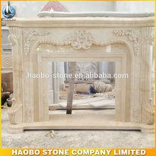 Haobo Stone European Outdoor Fireplace