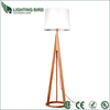 2014 hot sale saa ul ce rohs wood floor lamp marble base floor lamp