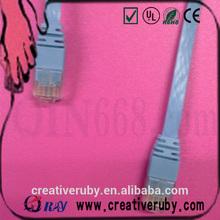 1 m SFTP Cat 5e flat Patch Cord