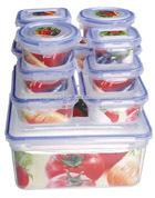 2014 High quality 12pcs walmart clear PP lunch box sets
