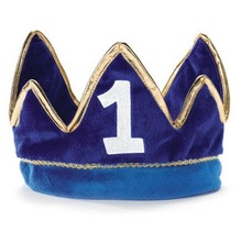 2014 Prince 1st Birthday Plush Crown.