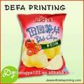 Saco de batata chips/lanche embalagens de alimentos saco/sacos de lanche