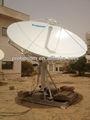 3.0m malha de alumínio de antena parabólica