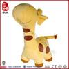 Super soft short plush stuffed animals giraffe
