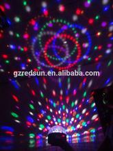 Lowest price/Energy saving / super brightness 3PCS1W RGB Mini LED crystal ceiling downlight FLood Flash Bulb Change