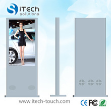 IR multi-touch Table stand LED touch screen kiosk,Touch screen kiosk