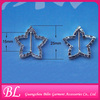 fashion jewelry star rhinestone buckles for wedding invitation